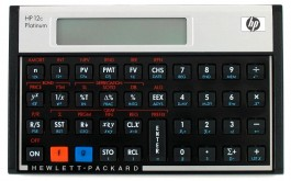 Calculadora HP Financeira 12C Platinum + DVD Educativo